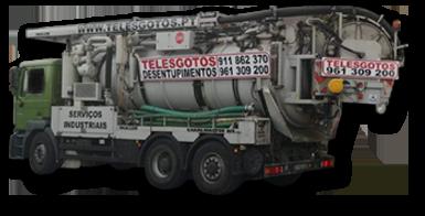 Telesgotos Camiao Hidroaspirador 12000 Litros