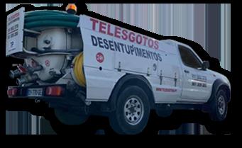 Telesgotos Carrinha Hidroaspirador 1300 Litros
