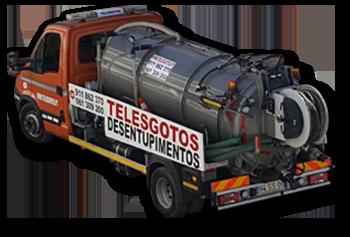 Telesgotos Carrinha Hidroaspirador 3500 Litros